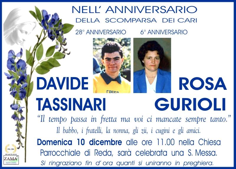 Davide Tassinari, Rosa Gurioli